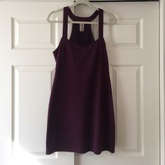 Free people dress Cute maroon/black free people dress Free People Dresses Mini