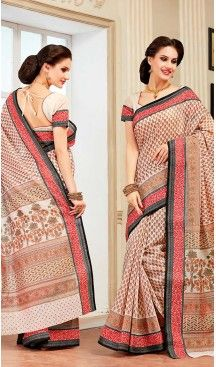 Off White Color Cotton Contemporary Style Office Wear Saree | FH488475055 #party , #wear, #saree, #saris, #indian, #festive, #fashion, #online, #shopping, #designer, #usa, #henna, #boutique, #heenastyle, #style, #traditional, #wedding, #bridel, #casual, @heenastyle , #blouse, #prestiched, #readymade, #stiched , #lehegasaris, #sari, #saris , #casual , #deaily , #office, #home , #heenastyle