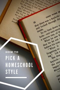 Picking a homeschool style can be overwhelming. Try these tips for pick the right homeschool approach for you. Homeschool High School, Homeschool Curriculum, How To Start Homeschooling, Home Learning, Home Schooling, Raising, Encouragement, Education, Tips