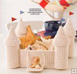 Castle Crochet Basket