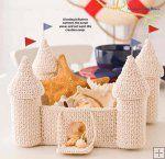 Castle Crochet Basket