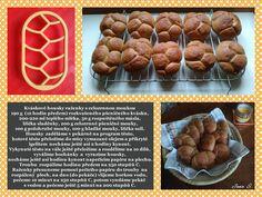 Kváskové housky- raženky  s celozrnnou moukou Muffin, Breakfast, Food, Morning Coffee, Essen, Muffins, Meals, Cupcakes, Yemek
