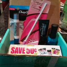 Beauty box 5 for October