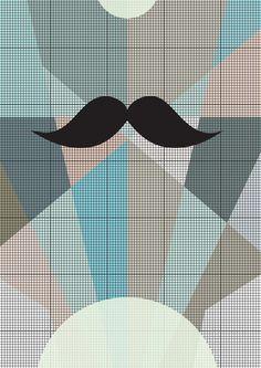 No one with a beard. kr150.00, via Etsy. Spenderbuks.