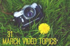 31 March Video Topic