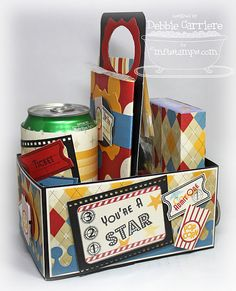 Another view of movie-themed box.