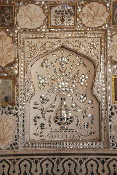 Jaipur, paleis en fort.
