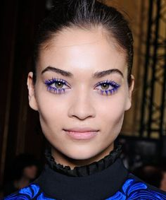 How to wear colored mascara — no matter what your eyes look like #makeup