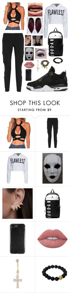 """""""Untitled #266"""" by brie-karitsa-luciano on Polyvore featuring L'Agence, WithChic, Masquerade, Anne Sisteron, NIKE, Lime Crime, Berluti and Essentia By Love Lily Rose"""