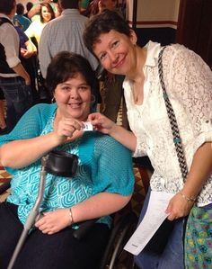 Shelly Butler and Susan Barr were the first same-sex couple to receive their marriage license in Little Rock, Ark., on Monday, May 12, 2014.