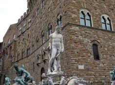Davi de Michelângelo pode ser visto em Florença