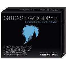 Sebastian Grease Goodbye Emergency Kit Dry Clean only, Potion 9 Lite, Gel Forte #Sebastian