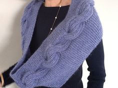 Ravelry: scroombs' Periwinkle Millwater Cowl