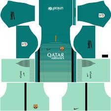 Resultado de imagen para uniformes verdes de futbol 2016 Barcelona Outfit, Barcelona 2016, Barcelona Team, Soccer Kits, Football Kits, Barcelona Football Kit, Biker Couple, Sports Jersey Design, Soccer Outfits