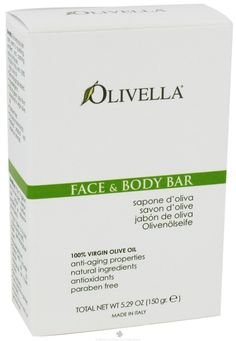 Olivella Soap Bar 5.29 Ounce Face