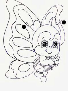 strawberry shortcake coloring page Cute Coloring Pages, Coloring For Kids, Adult Coloring Pages, Coloring Sheets, Coloring Books, Tole Painting, Fabric Painting, Animal Drawings, Art Drawings