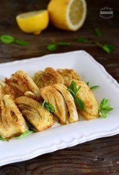 Finocchi al limone (fennel, lemons) Vegetable Side Dishes, Vegetable Recipes, Raw Food Recipes, Italian Recipes, Cooking Recipes, Healthy Recipes, I Love Food, Good Food, Antipasto