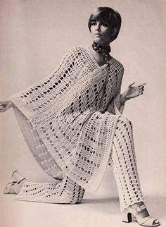 Vintage Crochet Pattern Pdf 1970s CROCHET by GrannyTakesATrip