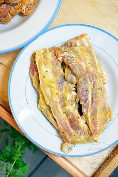 Calzone, Tzatziki, Quesadilla, Bbq Grill, Pork Recipes, French Toast, Bacon, Food And Drink, Tasty