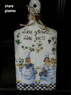 decoupage -----  cutting board------------- deska do krojenia -------  d1.JPG (300×400)