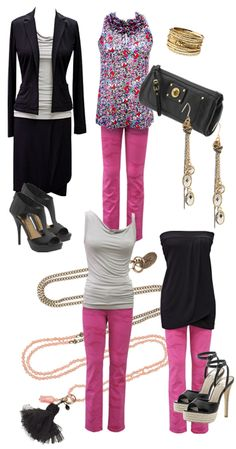 Bachelorette outfits and accessories