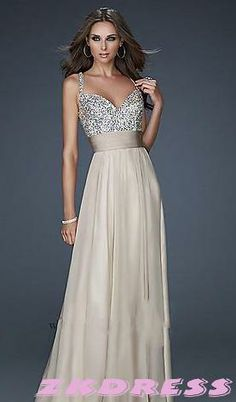 Prom dress  Prom dresses. I don't like the color but love the style!!