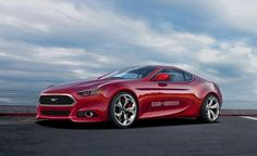 Car & Driver Rendering of 2015 Ford Mustang