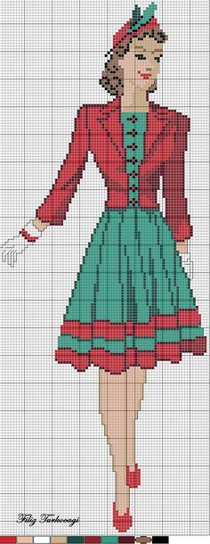 Eski Model Elbise: 2 ( vintage dress :2 )