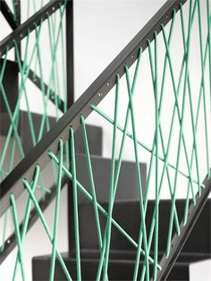 Corrimano e ringhiere per scale internedal design moderno n.09