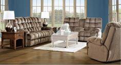 Brownsville Power Reclining Sofa Set - Challenger Mocha