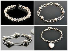 Schitterende zilveren armbanden. Gratis verzending in NL Het perfecte cadeau!!   www.dczilverjuwelier.nl