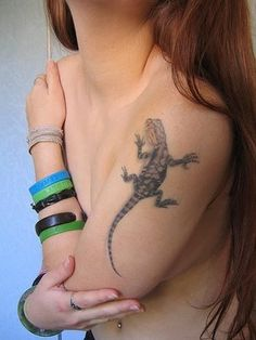 d7d42ceda Lizard Tattoo Designs Meaning: Lizard Tattoo Designs For Girl On Sleeve ~ Tattoo  Design Inspiration