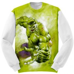Sweatshirt Incredible Hulk marvel Apparel #Clothing #hulk #incredible #marvel #comics #avengers #apparels #apparel #sweatshirt