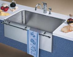 Blanco 440294 Farmhouse Style Single Bowl Undermount Kitchen Sink, Satin at PlumberSurplus.com