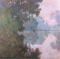 Morning on the Seine, near Giverny ~ Claude Monet