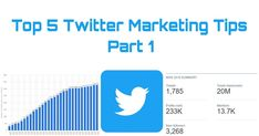 In this article i have talked about top 5 twitter marketing tips.This article is so much useful for those who do marketing on twitter or promote their business or website on twitter.Twitter got everyday 126 million visitors.So it is a great platform to get more views,more sales to your website and business.I this article i have talked full detail about how to do it,how to promote your business or website free on twitter and get more views and sales.The 5 tips i have talked about in this… Twitter Bio, About Twitter, Trending Topics, What's Trending, Popular Hashtags, Good Presentation, Promote Your Business, Political News, Business Website