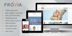 Review Provia - Responsive MultiPurpose Blogger TemplateIn our offer link above you will see