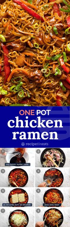 Chicken Vegetable Ramen Noodles Loaded with hidden vegetables Chicken Vegetable Ramen Noodles is a super quick dinner idea thats economical versatile and healthy. The post Chicken Vegetable Ramen Noodles appeared first on Vegan.