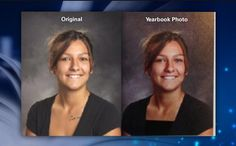 School Edits Yearbook Photos and Reinforces Misogyny at the Same Time. USA, 2014...not a typo/DM