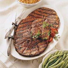 BBQ GRILLING #BBQ #Grilling Southwest Ham Steaks