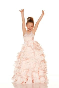 2017 New Ball Gown First Communion Dresses for Girls Sleeveless Mother Daughter Gowns Ankle-Length Mother Daughter Dresses Girls Pageant Dresses, Little Girl Dresses, Homecoming Dresses, Nice Dresses, Flower Girl Dresses, Formal Wear Women, First Communion Dresses, Couture Fashion, Evening Gowns