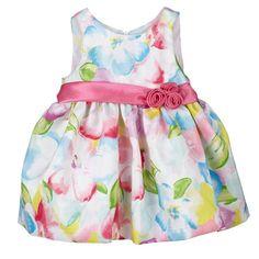 Rainbow Florals Dress (12-24m)