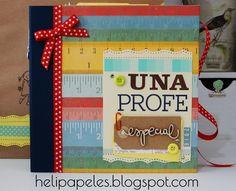 Heli Papeles ♥: Libro para la profe :-)