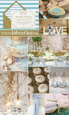 Invitaciones de boda, Invitaciones para boda, Fiesta azul y dorada, Boda azul y dorada estilo cenicienta