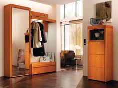 hall design furniture tv furniture designs hall furniture design a a f f Hall Furniture, Furniture Styles, Furniture Design, Wooden Furniture, Halle, Hall Wardrobe, White Wardrobe, Wardrobe Ideas, Wall Mirror With Shelf