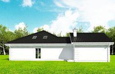 Projekt domu Rezydencja Parkowa 3 - 259,28 m2 - koszt budowy 361 tys. zł Garage Doors, Outdoor Decor, House, Home Decor, City, Decoration Home, Home, Room Decor, Haus