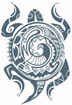 Tribal Turtle Temporary Tattoos