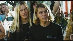 John Robinson as Stacy Peralta and Emile Hirsch as Jay Adams in Lords of Dogtown (2005)