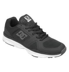 DC Shoes Men's Unilite Trainer Shoes - Black #DCShoes #Skateboarding (Athletic)