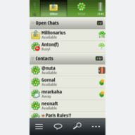 ICQ for Symbian Touch